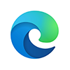 Microsoft Edge logo icon